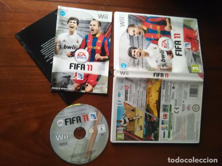JUEGO NINTENDO WII - EA SPORTS FUTBOL FIFA 11 FIFA11 LIGA PROFESIONAL FUTBOL (Juguetes - Videojuegos y Consolas - Nintendo - Wii)