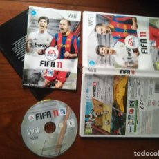 Videojuegos y Consolas: JUEGO NINTENDO WII - EA SPORTS FUTBOL FIFA 11 FIFA11 LIGA PROFESIONAL FUTBOL . Lote 107798499