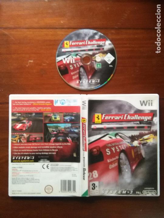 JUEGO NINTENDO WII - FERRARI CHALLENGE - THE OFFICIAL GAMES FROM SYSTEM 3 PAL TROFEO PIRELLI DELUXE (Juguetes - Videojuegos y Consolas - Nintendo - Wii)