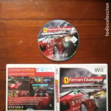 Videojuegos y Consolas: JUEGO NINTENDO WII - FERRARI CHALLENGE - THE OFFICIAL GAMES FROM SYSTEM 3 PAL TROFEO PIRELLI DELUXE. Lote 107798791