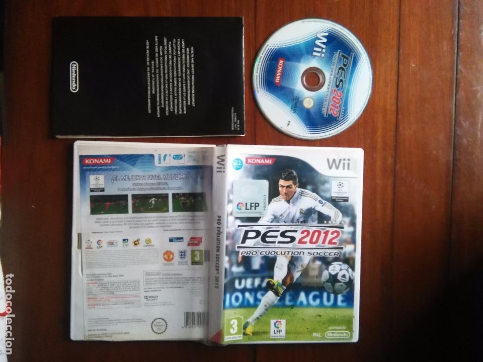 JUEGO NINTENDO WII - FUTBOL PES2012 PES 2012 PRO EVOLUTION SOCCER KONAMI LIGA PROFESIONAL FUTBOL LPF (Juguetes - Videojuegos y Consolas - Nintendo - Wii)