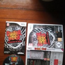 Videojuegos y Consolas: JUEGO NINTENDO WII - GUITAR HERO. WARRIORS OF ROCK PAL, ACTIVISION . Lote 107879123
