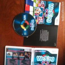 Videojuegos y Consolas: JUEGO NINTENDO WII - WESING 80S , MUSICA AÑOS 80 - COMPATIBLE CON 4 MICROFONOS USB DE LOGITECH . Lote 107879267
