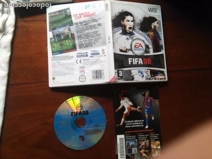 JUEGO NINTENDO WII - FIFA 2008 08 FUTBOL (Juguetes - Videojuegos y Consolas - Nintendo - Wii)