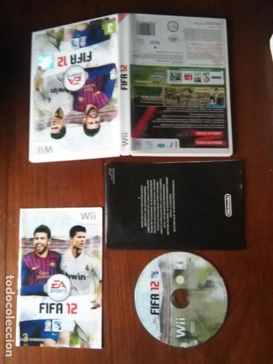 JUEGO NINTENDO WII - FIFA 2012 12 FUTBOL (Juguetes - Videojuegos y Consolas - Nintendo - Wii)