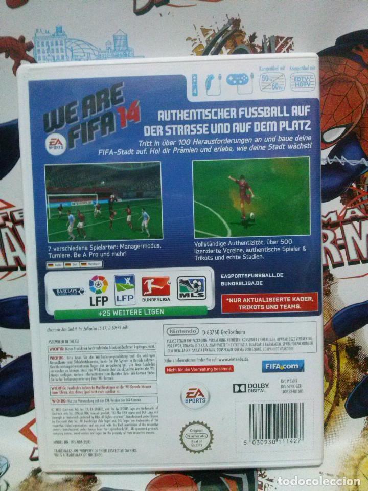 Juego Wii Fifa 14 Comprar Videojuegos Y Consolas Nintendo Wii