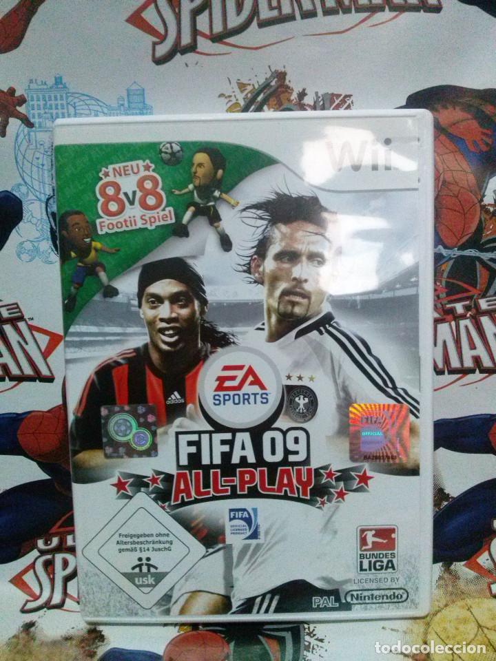 Juego Wii Fifa 09 All Play Comprar Videojuegos Y Consolas