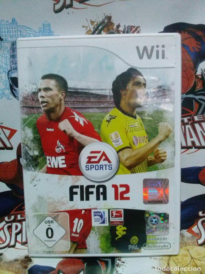 Juego Wii Fifa 12 Comprar Videojuegos Y Consolas Nintendo Wii