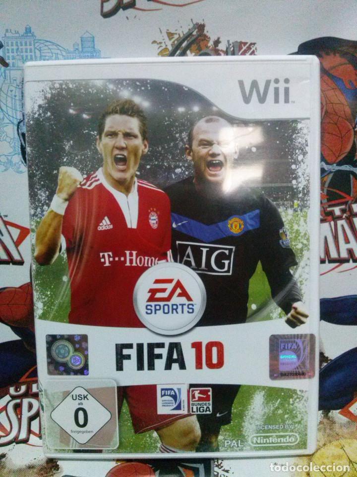 Juego Wii Fifa 10 Comprar Videojuegos Y Consolas Nintendo Wii