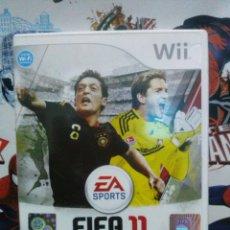 Videojuegos y Consolas: JUEGO WII - FIFA 11.. Lote 108847711