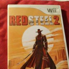 Videojuegos y Consolas: JUEGO WII RED STEEL 2 . Lote 109349287
