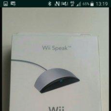 Videojuegos y Consolas: WII SPEAK. Lote 109449288