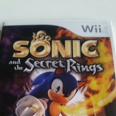 Videojuegos y Consolas: JUEGO WII. SONIC AND THE SECRET RINGS. Lote 110039760