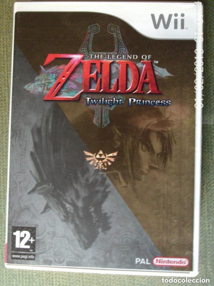 Videojuegos y Consolas: JUEGO WII THE LEGEND OF ZELDA TWILIGHT PRINCESS - Foto 1 - 111872299