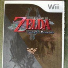 Videojuegos y Consolas: JUEGO WII THE LEGEND OF ZELDA TWILIGHT PRINCESS. Lote 111872299