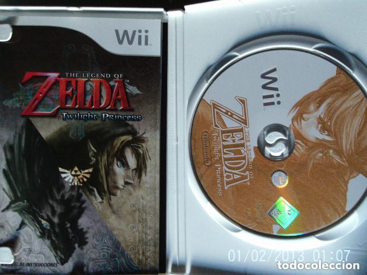Videojuegos y Consolas: JUEGO WII THE LEGEND OF ZELDA TWILIGHT PRINCESS - Foto 2 - 111872299