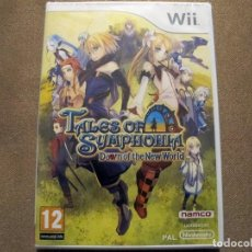 Videojuegos y Consolas: TALES OF SYMPHONIA: DAWN OF THE NEW WORLD, PRECINTADO PAL ESP -WII-. Lote 112626319
