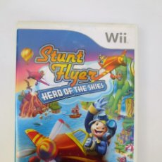 Videojuegos y Consolas: JUEGO STUNT FLYER - HERO OF THE SKIES PARA WII. Lote 113501307