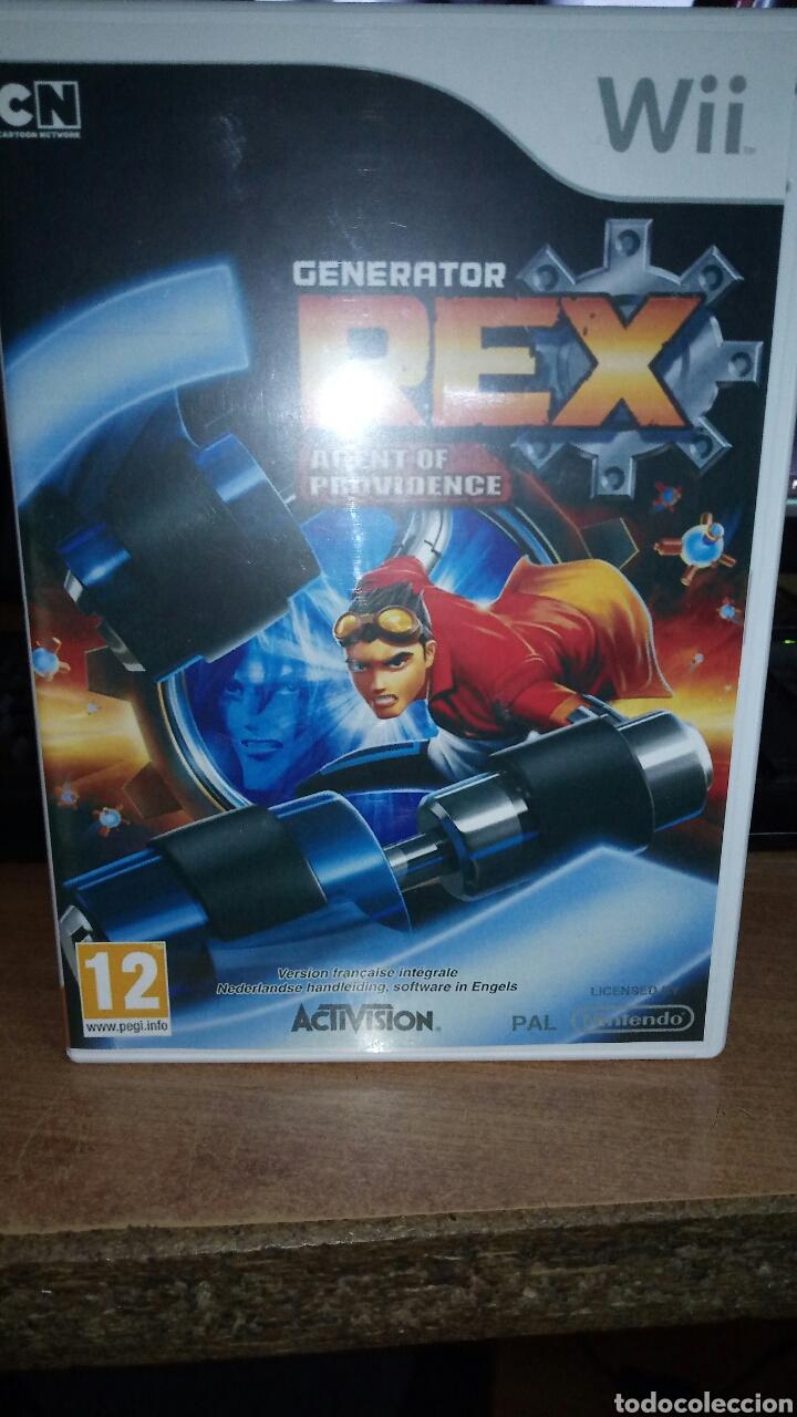 REX AGENT PROVIDENCE NINTENDO WII (Juguetes - Videojuegos y Consolas - Nintendo - Wii)