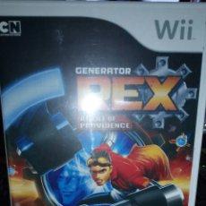 Videojuegos y Consolas: REX AGENT PROVIDENCE NINTENDO WII. Lote 113605346