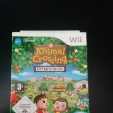 Videojuegos y Consolas: ANIMAL CROSSING: LET'S GO TO THE CITY WII. Lote 114254047