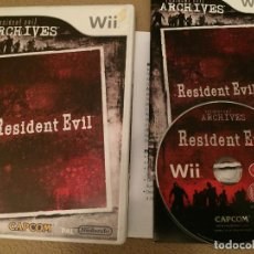 Videojuegos y Consolas: RESIDENT EVIL 1 I HD RE ARCHIVES NINTENDO WII KREATEN. Lote 115625019