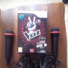 Videojuegos y Consolas: LA VOZ VOL. 3 ,DE NINTENDO.SOLO LOS MICROS. Lote 115688563