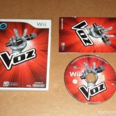 Videojuegos y Consolas: LA VOZ PARA NINTENDO WII, PAL. Lote 115743415