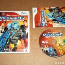 Videojuegos y Consolas: DREAMWORKS MEGAMIND : EL MEGA ESCUADRON PARA NINTENDO WII, PAL. Lote 115743991