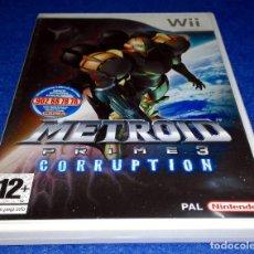 Videojuegos y Consolas: NINTENDO WII - METROID PRIME 3 CORRUPTION. Lote 115751111