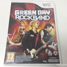 Videojuegos y Consolas: GREEN DAY ROCKBAND. Lote 115859287
