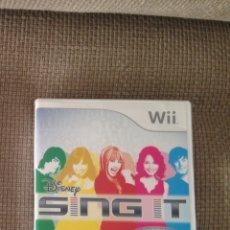 Videojuegos y Consolas: WII SING IT - VIDEOJUEGO. Lote 115958718