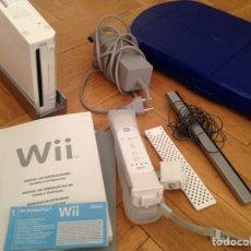 Videojuegos y Consolas: CONSOLA WII+ 1 MANDO + PLATAFORMA. Lote 115972956