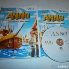 Videojuegos y Consolas: ANNO LA CREACION DE UN NUEVO MUNDO NINTENDO WII PAL ESPAÑA COMPLETO. Lote 116005367
