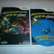 Videojuegos y Consolas: MUSHROOM MEN LAS GUERRA ESPORA NINTENDO WII PAL ESPAÑA COMPLETO. Lote 116005711