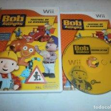 Videojuegos y Consolas: BOB Y SUS AMIGOS FESTIVAL DE LA DIVERSION NINTENDO WII PAL. Lote 116006043