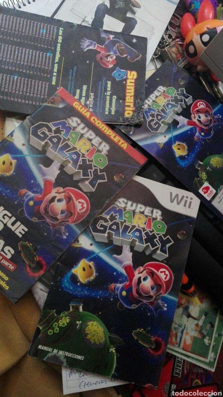 LOTE INSTRUCCIONES SUPER MARIO GALAXY WII (Juguetes - Videojuegos y Consolas - Nintendo - Wii)