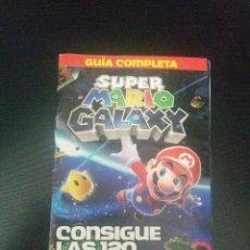 Videojuegos y Consolas: GUIA COMPLETA DE SUPER MARIO GALAXY 2ª PARTE. Lote 128605170