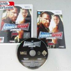 Videojuegos y Consolas: SMACK DOWN VS RAW 2009 - WII. Lote 117687023