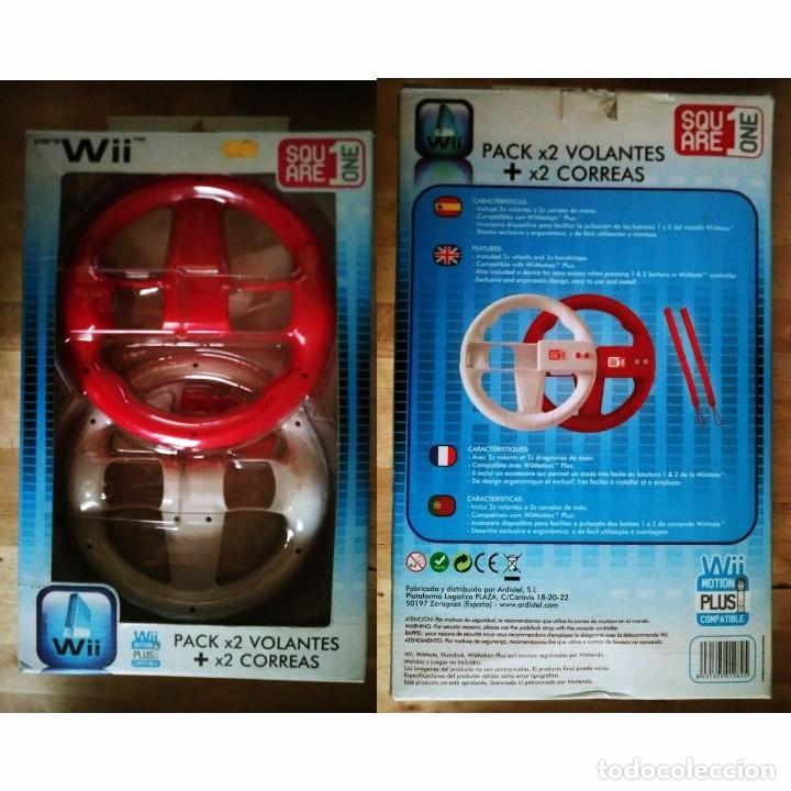 Pack 2 Volantes Wii Segunda Mano Wii Motion Plu Comprar