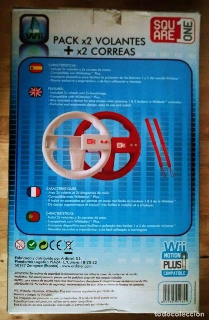 PACK 2 VOLANTES WII Segunda mano Wii MOTION PLUS COMPATIBLE Ver fotos y descripción
