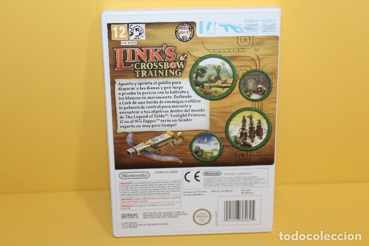 Videojuegos y Consolas: JUEGO PARA Wii - LINKS CROSSBOW TRAINING EN ESPAÑOL - Foto 2 - 123817959