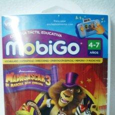 Videojuegos y Consolas: JUEGO PARA CONSOLA MOBIGO VTECH MADAGASCAR 3 DE MARCHA POR EUROPA VTECH ¡¡NUEVO Y PRECINTADO!!. Lote 124018279