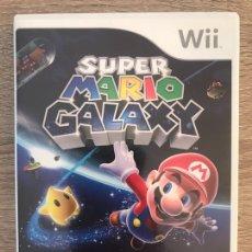 Videojuegos y Consolas: JUEGO SUPER MARIO GALAXY PARA NINTENDO WII COMPLETO PAL ESPAÑA. Lote 125829722