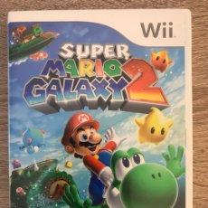 Videojuegos y Consolas: JUEGO SUPER MARIO GALAXY 2 PARA NINTENDO WII COMPLETO PAL ESPAÑA. Lote 125831592