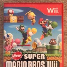 Videojuegos y Consolas: JUEGO NEW SUPER MARIO BROS. WII PARA NINTENDO WII COMPLETO PAL ESPAÑA. Lote 125832371