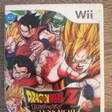 Videojuegos y Consolas: JUEGO DRAGON BALL Z BUDOKAI TENKAICHI 3 PARA NINTENDO WII COMPLETO PAL ESPAÑA. Lote 125833528