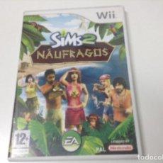 Videojuegos y Consolas: LOS SIMS 2 NAUFRAGOS. Lote 125858747