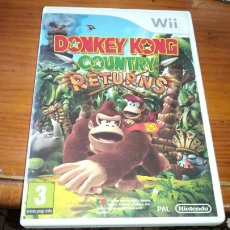 Videojuegos y Consolas: DONKEY KONG COUNTRY RETURNS WII. Lote 128150091