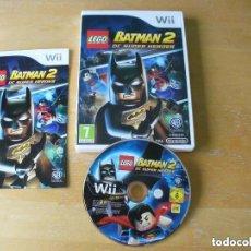 Videojuegos y Consolas: JUEGO NINTENDO WII LEGO BATMAN 2 DC SUPER HEROES. Lote 128399203